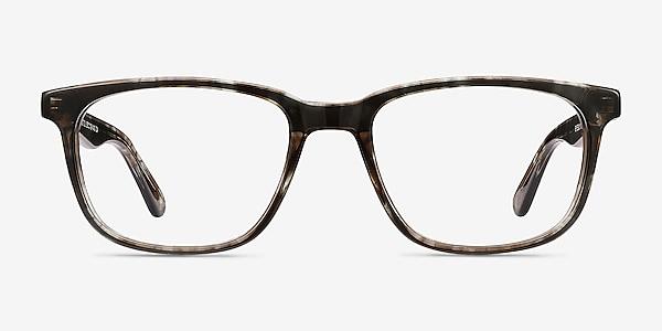Bristol Gray Floral Acetate Eyeglass Frames