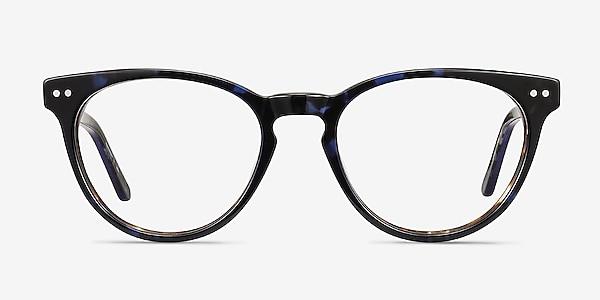 Notting Hill Blue Floral Acetate Eyeglass Frames