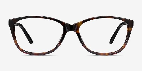 Masque Tortoise Acetate Eyeglass Frames