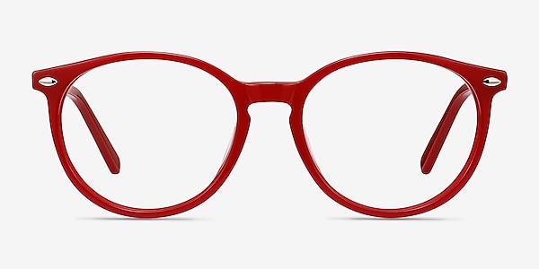 Blink Rouge Acétate Montures de lunettes de vue