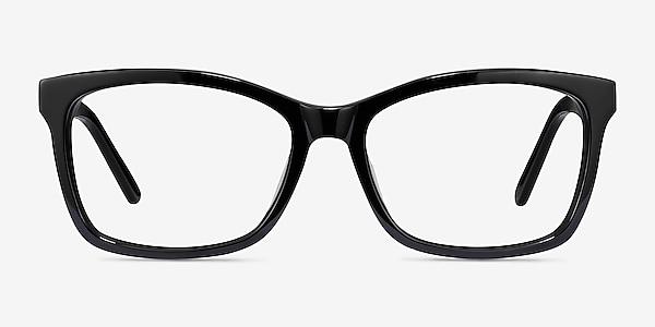 Mode Black Acetate Eyeglass Frames