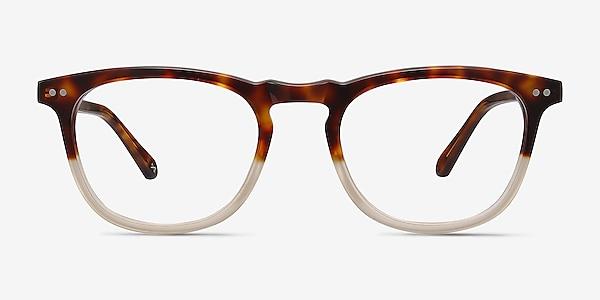 Illusion Tortoise Clear Acetate Eyeglass Frames