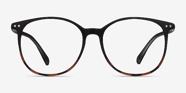Lucia Black Tortoise Plastique Montures de lunettes de vue