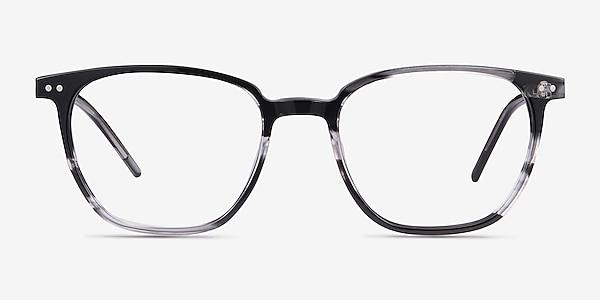 Regalia Gray Striped Acetate Eyeglass Frames