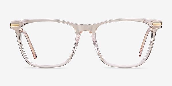 Sebastian Rose Gold Acetate-metal Montures de lunettes de vue