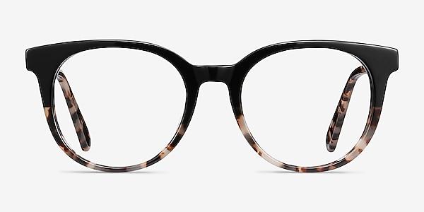 Rialto Black Tortoise Acetate Eyeglass Frames