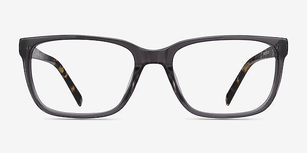 Demo Gray Acetate Eyeglass Frames