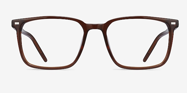 Chief Brown Acetate Eyeglass Frames