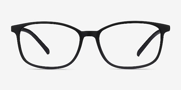 Median Noir Plastique Montures de lunettes de vue