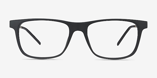 Karat Black Plastic-metal Eyeglass Frames