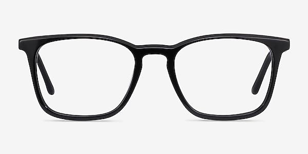 Phoenix Noir Acétate Montures de lunettes de vue