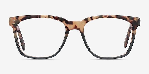 Jamie Tortoise & Green Acétate Montures de lunettes de vue
