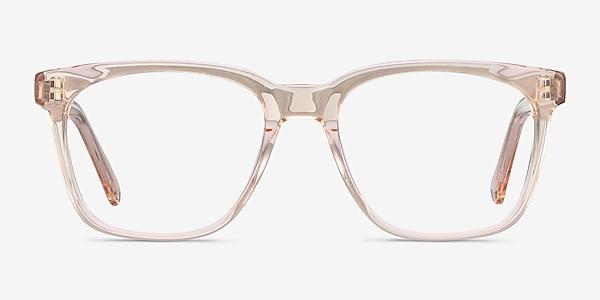 Jamie Clear Brown Acetate Eyeglass Frames