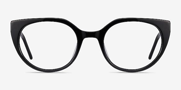 Rhyme Black Acetate Eyeglass Frames