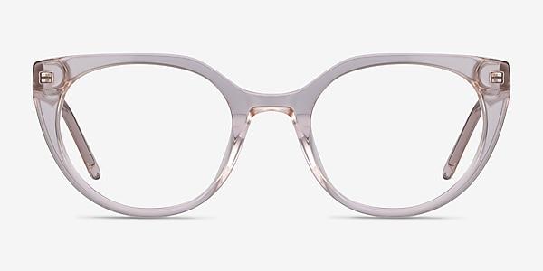 Rhyme Clear brown Acetate Eyeglass Frames