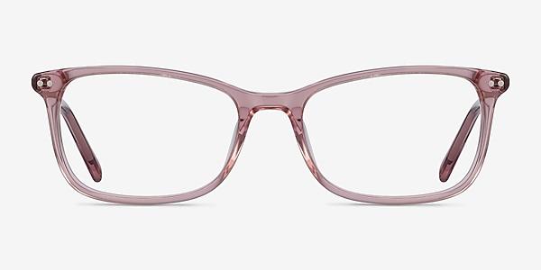Alette Clear Pink Acétate Montures de lunettes de vue