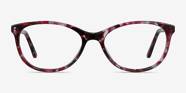 Depth Floral Acetate Eyeglass Frames