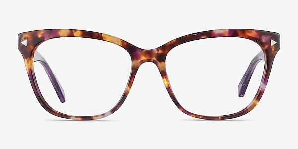 Petal Purple Tortoise Acetate Eyeglass Frames