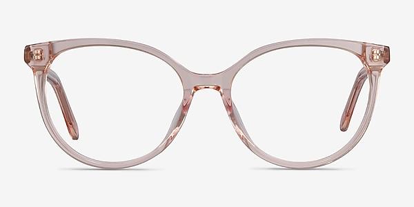 Nala Clear Pink Acétate Montures de lunettes de vue
