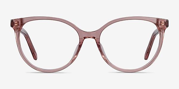 Nala Clear Purple Acetate Eyeglass Frames