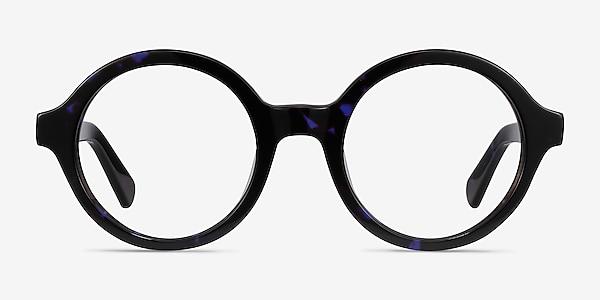 Groove Blue Tortoise Acétate Montures de lunettes de vue