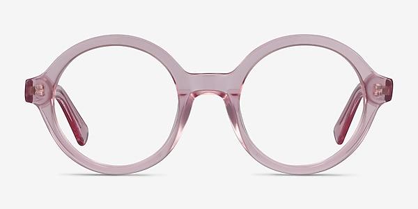 Groove Rose Acétate Montures de lunettes de vue