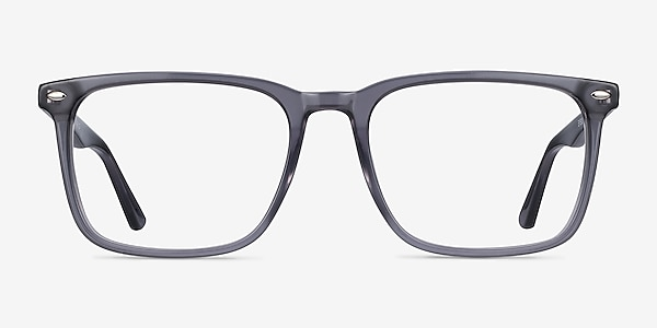 Tactician Gray Acetate Eyeglass Frames