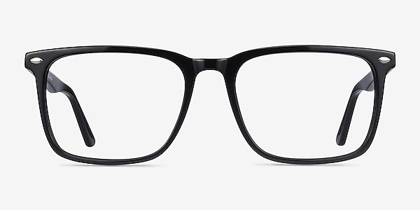 Tactician Black Acetate Eyeglass Frames