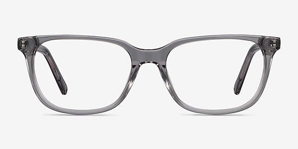 Peruse Clear Gray Acetate Eyeglass Frames
