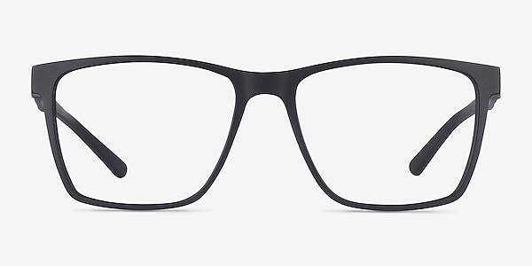 Spencer Black Plastic Eyeglass Frames