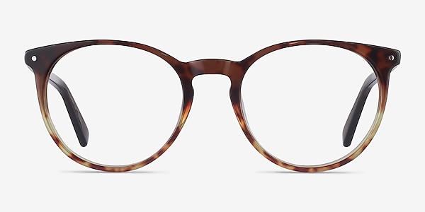 Fleury Brown Floral Acétate Montures de lunettes de vue