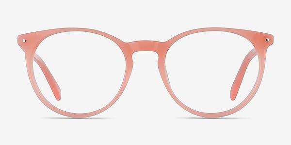 Fleury Pink Orange Acétate Montures de lunettes de vue