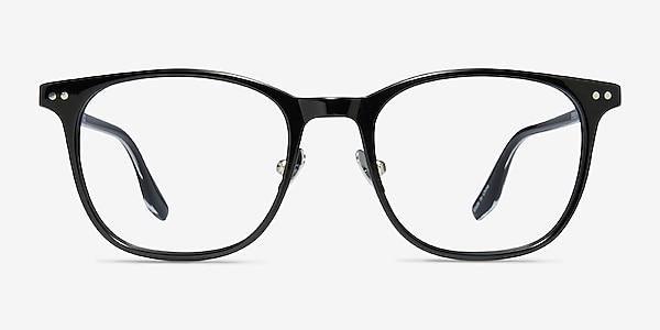 Follow Black Acetate Eyeglass Frames