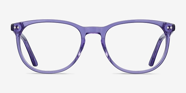 Cherbourg Purple Acetate Eyeglass Frames