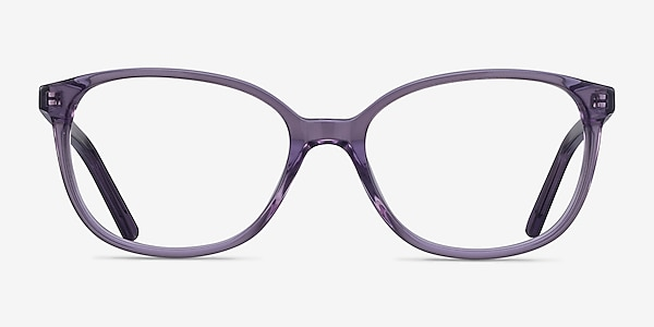 Thelma Purple Acetate Eyeglass Frames