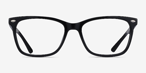 Varda Black Acetate Eyeglass Frames