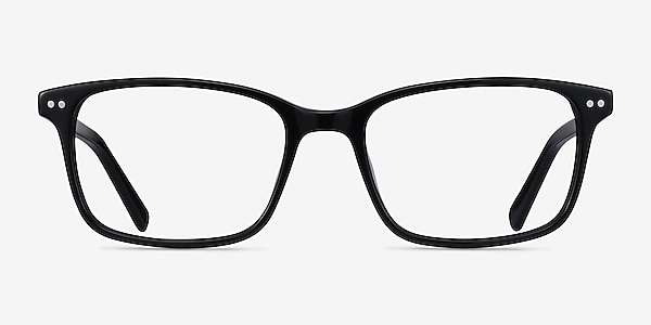 Basel Black Acetate Eyeglass Frames