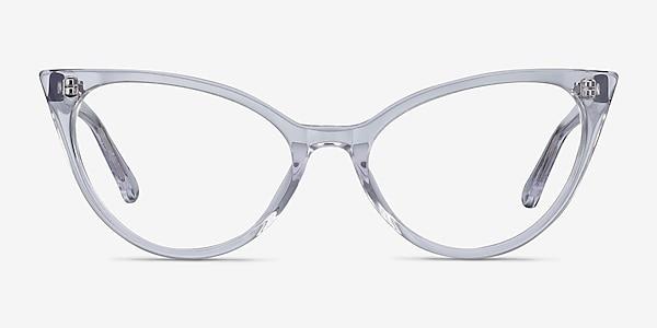 Quartet Clear Acetate Eyeglass Frames