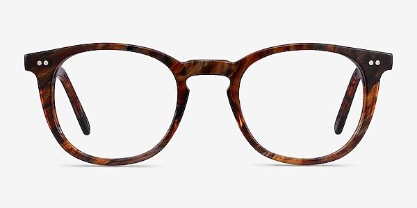 Ona Marbled Havana Acetate Eyeglass Frames