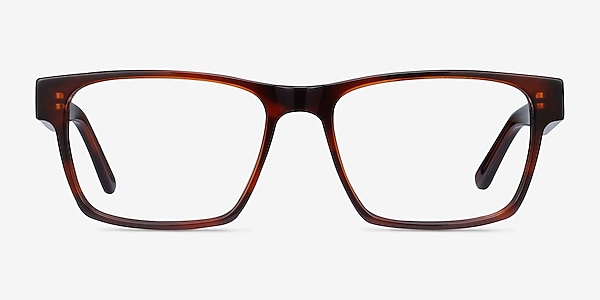 Reyes Brown Acetate Eyeglass Frames