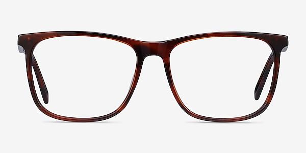 Mezzanine Marron Acétate Montures de lunettes de vue