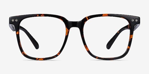 Piano Floral Plastic Eyeglass Frames