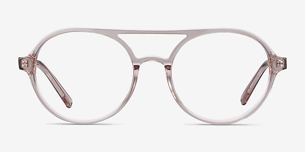 Elevate Clear Pink Acétate Montures de lunettes de vue