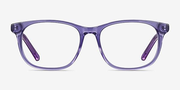Steps Purple Acetate Eyeglass Frames