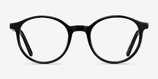 Excel Noir Acétate Montures de lunettes de vue