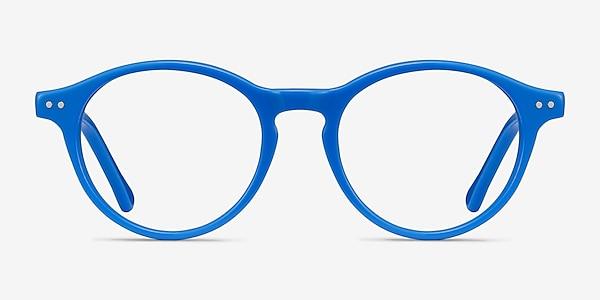 Magic Blue Acetate Eyeglass Frames