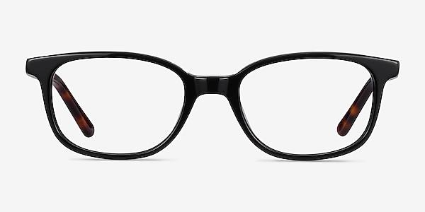 Leap Black Acetate Eyeglass Frames