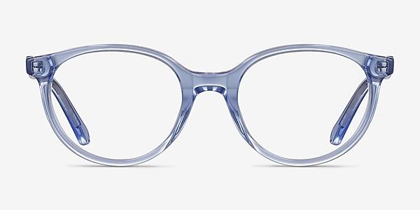 Trust Clear Blue Acetate Eyeglass Frames