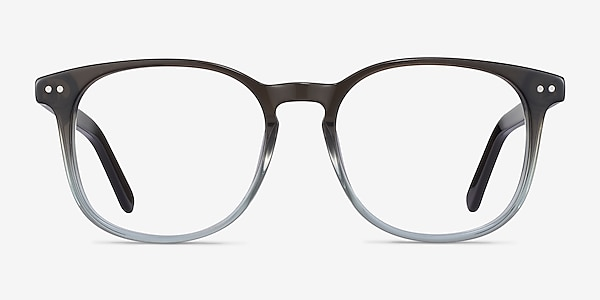 Ander Gray Clear Acetate Eyeglass Frames