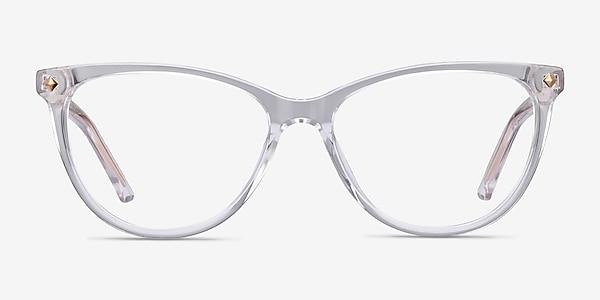 Leonie Clear Acetate Eyeglass Frames